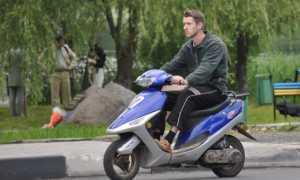 Штраф за езду без шлема на скутере